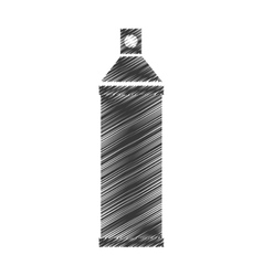 Spray paint bottle isolated icon vector image