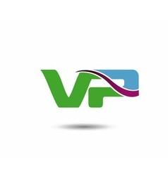 VP logo vector image