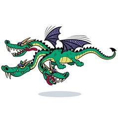 Cartoon Dragon vector image vector image