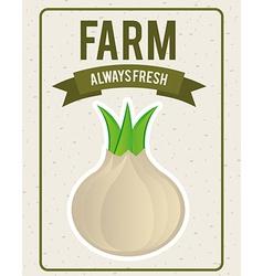 vegetables design vector image vector image