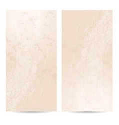 Template vertical banner vector image vector image