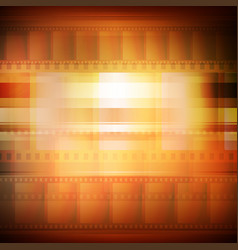 old movie background sepia toning vector image