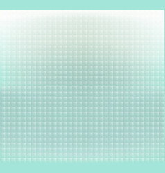 abstract green pastels square pixels background vector image