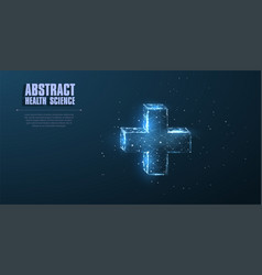 Abstract polygonal wireframe vector