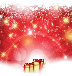 christmas gift background 0812 vector image
