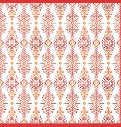 Ethnic style seamless pattern vector