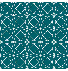 Green teal geometric paper pattern seamless vector