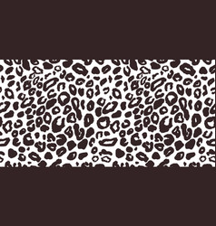 leopard seamless pattern texture vector image