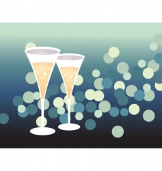 party glass vector image