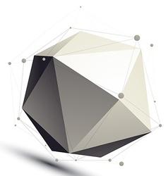 Spatial monochrome digital object dimensional vector