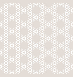 Hexagon texture seamless pattern in pastel colors vector