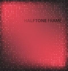 Set of Modern Flat Halftone Backgrounds vector image vector image