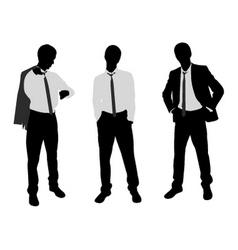 young businessman vector image