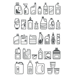 household1 vector image vector image