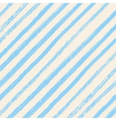 Brush strokes blue diagonal lines isolated on vector image