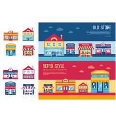 digital yellow supermarket vector image