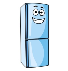 Fridge-freezer or refrigerator kitchen appliance vector