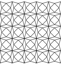geometric paper pattern seamless background vector image