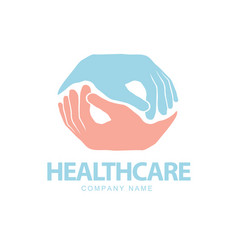 medical pharmacy healthcare concept logo design vector image