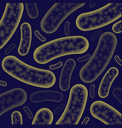 Micro bacterium background vector