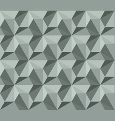 old school seamless background triangle vector image