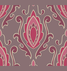 Pattern with damask vector