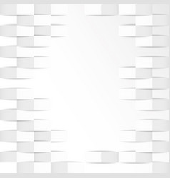 White geometric texture background vector