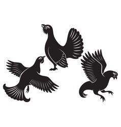 bird grouse vector image vector image