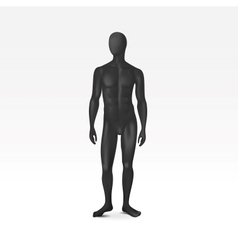 Isolated Male Mannequin vector image