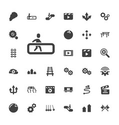 33 motion icons vector