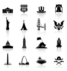 a high quality and detail collection famous vector image