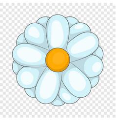 Daisy icon cartoon style vector