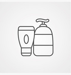 lotion icon sign symbol vector image