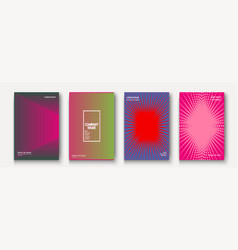 minimalist modern cover collection design dynamic vector image
