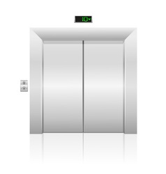 passenger elevator 01 vector image