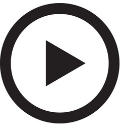Play video button icon symbol vector
