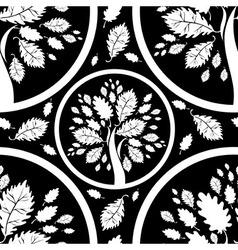 Seamless tree pattern 05 vector