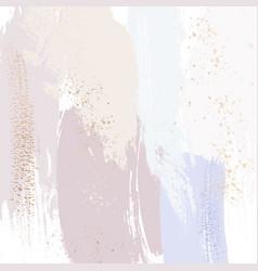 Tender violet pink pastel glitter art sprakled vector