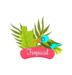 Tropical Summer Vacation vector image