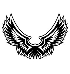 Wing logo graphic vector