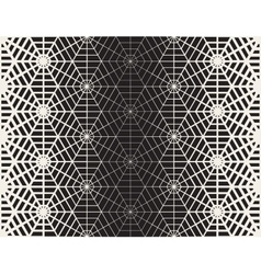 Seamless Black And White Geometric Line vector image vector image