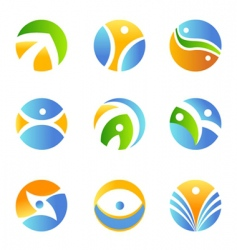 symbol design element vector image
