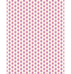 Abstract overlay polka dot seamless background vector image