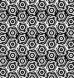 Black and white alternating small squares cut vector image