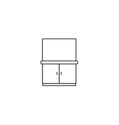 closet in the bathroom icon web element premium vector image