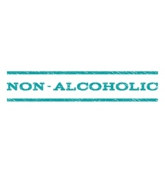 Non-alcoholic watermark stamp vector
