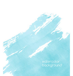 Vibrant watercolor background or backdrop vector