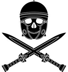 skull of the warrior third variant vector image