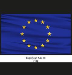 national flag brochure of european nation vector image vector image
