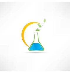 experience on plants icon vector image vector image